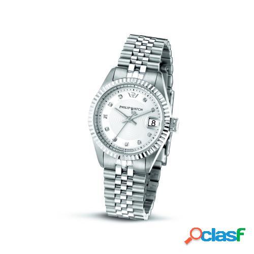 Orologio donna philip watch tempo e data caribe r8253597564