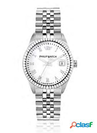 Orologio donna philip watch tempo e data caribe r8253597566