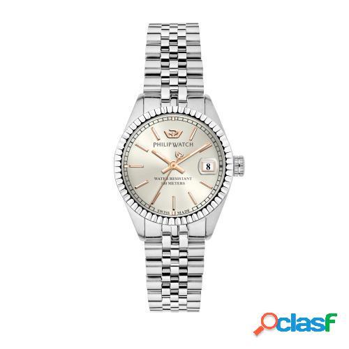 Orologio donna philip watch tempo e data caribe r8253597567