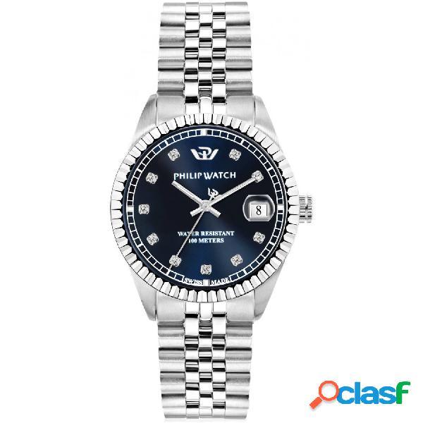 Orologio donna philip watch tempo e data caribe r8253597570