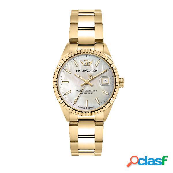 Orologio donna philip watch tempo e data caribe r8253597576