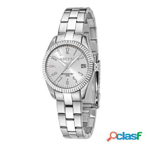 Orologio donna sector tempo e data 240 r3253579518