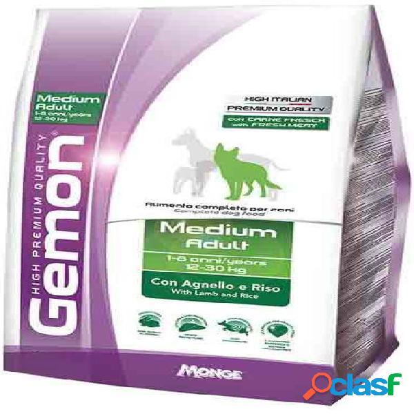 Gemon cane medium adult kg 15 agnello riso