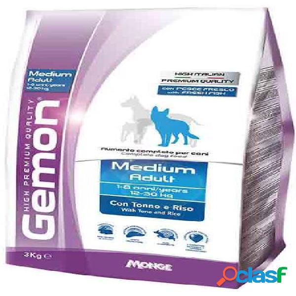 Gemon cane medium adult kg 3 tonno riso