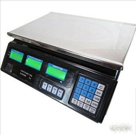 Bilancia professionale banco digitale elettronica