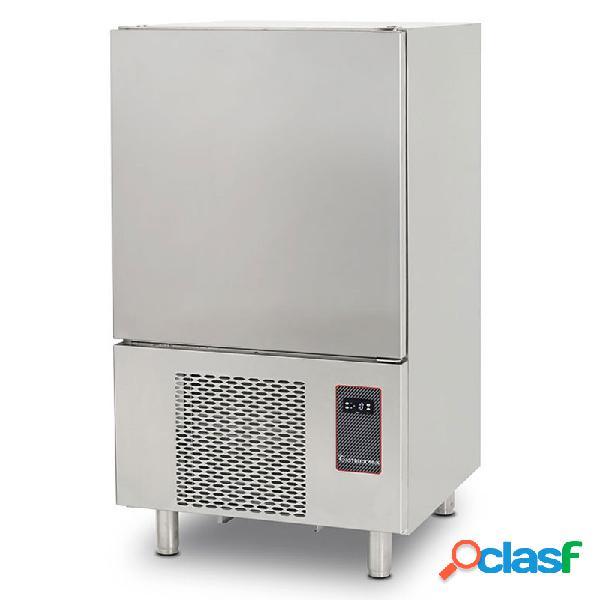 Abbattitore di temperatura digitale in acciaio inox - predisposto per 10 teglie/griglie gn 1/1 o 60x40 cm