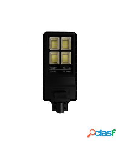 Lampione solare led esterno con telecomando 90w/120w 6500k 90w