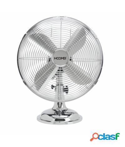 Ventilatore da tavolo cromato 50w hm-8270