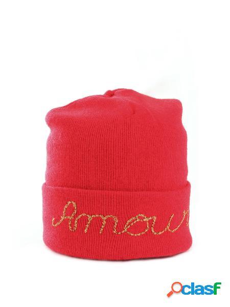 Vicolo 2262w cappello amour con ricamo in lurex