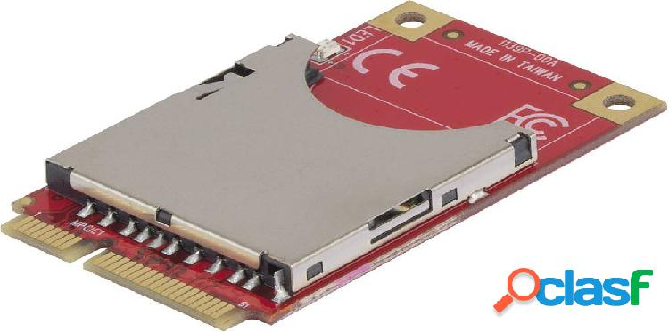 Renkforce convertitore di interfaccia [1x spina mini pcie - 1x slot schede sd]