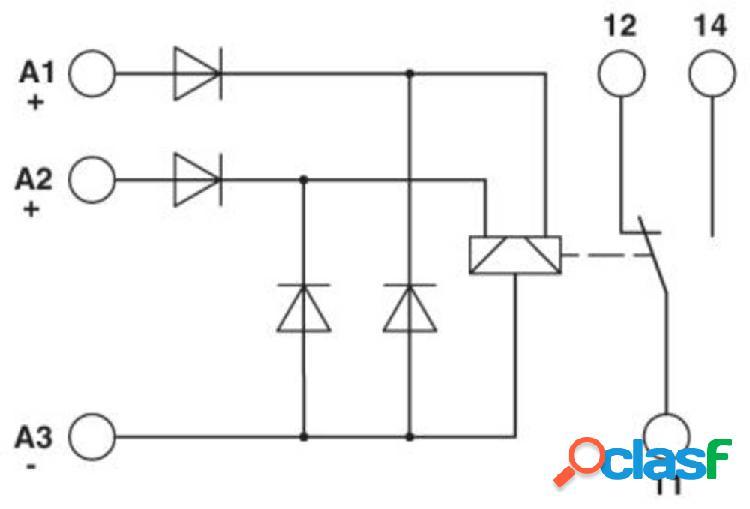 Phoenix contact emg 17-rel/sg-b 24/21/p modulo relè 10 pz.