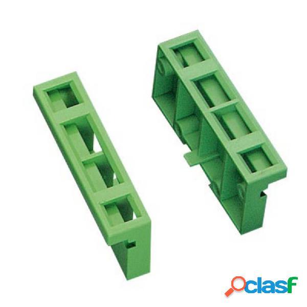 Phoenix contact um 45-ses elemento laterale per contenitore guida din plastica 10 pz.