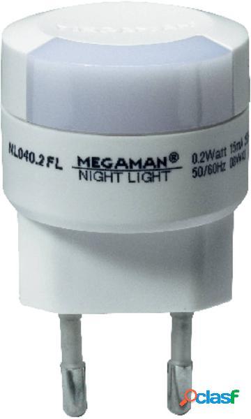 Megaman mm00103 mm00103 luce notturna led led (monocolore) arancione bianco