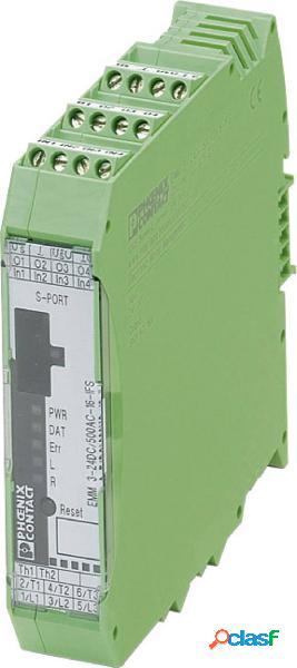 Modulo protezione motore 19.2 - 30 v/dc phoenix contact emm 3- 24dc/500ac-16-ifs 1 pz.