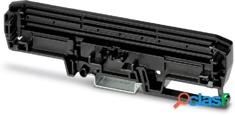 Phoenix contact um-pro 108 cover-l bk elemento laterale per contenitore guida din plastica 10 pz.