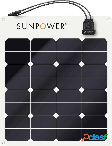 Sunpower spr-e-flex 50 pannello solare monocristallino 50 wp 12 v