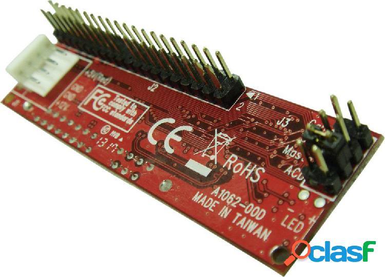 Renkforce rf-4886682 convertitore di interfaccia [1x spina ide a 40 poli - 1x presa combinata sata 7+15 poli]