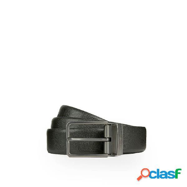 Emporio armani cintura uomo y4s202ylp4j88001 pelle nero