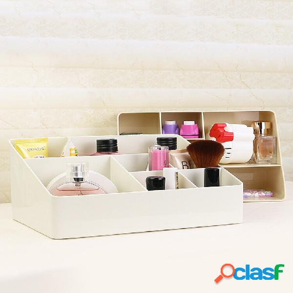 Trucco organizzatore porta cosmetici di grande capacità scatola desktop organizzatore labbro per gioielli bastone chiodo