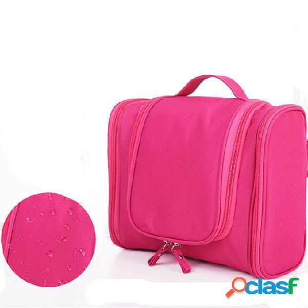 Trucco borse da viaggio organizzatore articoli da toeletta borsa per cosmetici multifunzione di grande capacità