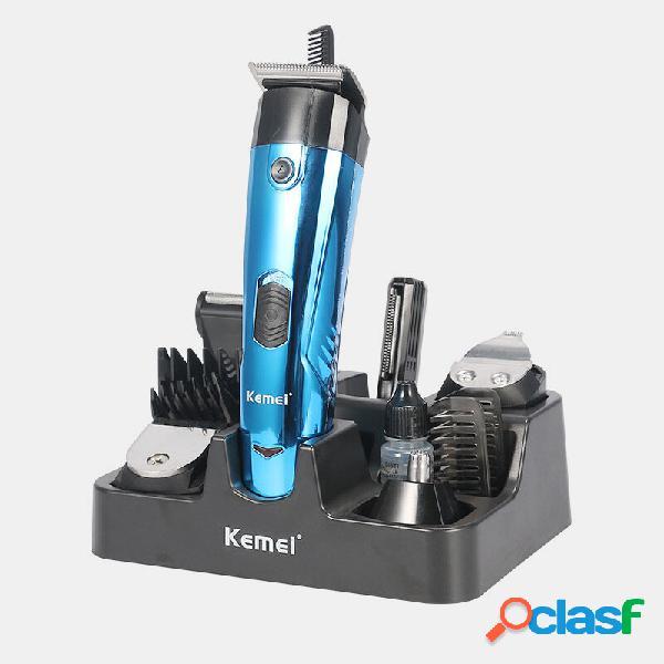 Capelli multifunzione professionale tagliatore di capelli 11 in 1 barba elettrica trimmer taglierina pettine testa profe
