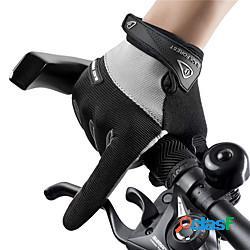 Guanti da ciclismo guanti touch anti-scivolo traspirante indossabile dita intere guanti sport panno di spugna nero rosso blu per per adulto attività all'aperto ciclismo / bicicletta lightinth