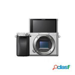 Fotocamera mirrorless sony a6400 body silver - sony