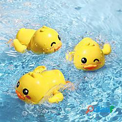 Giocattolo per il bagnetto giocattolo di paletta d'acqua giocattolo della vasca da bagno della piscina di acqua anatra plastica romantico esasperare nuoto piscina tempo del bagno bagno estate