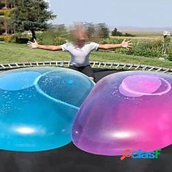 Bambini bolla palla giocattolo gigante gonfiabile palla da spiaggia acqua palla di gomma morbida gelatina palloncini palle per bambini festa all'aperto lightinthebox