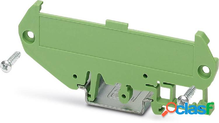 Phoenix contact um 72-sefe/l elemento laterale per contenitore guida din plastica 10 pz.