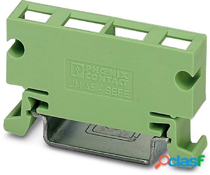 Phoenix contact um 45-sefe o.n. elemento laterale per contenitore guida din plastica 10 pz.