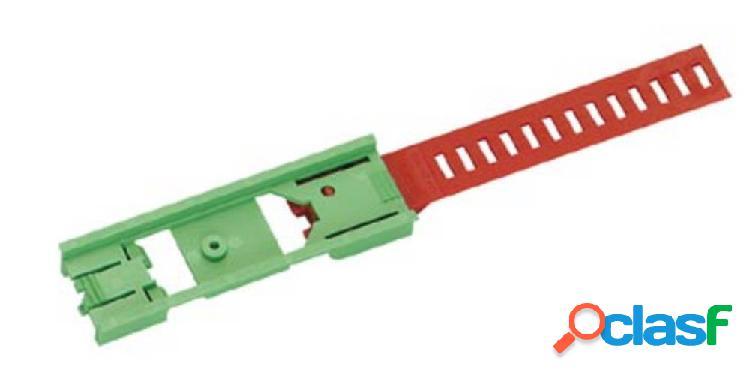 Phoenix contact um 25/45-feo 200 elemento di fondo per contenitore guida din plastica 10 pz.