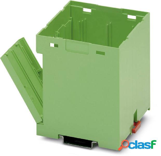 Phoenix contact eg 90-gp/abs gn elemento inferiore per contenitore guida din plastica 10 pz.
