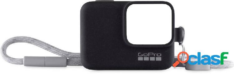 Kit accessori gopro trageband + hülle-bk schwarz adatto per=gopro