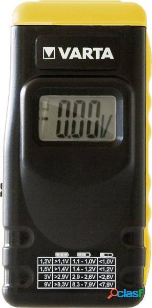 Varta tester batterie batt. tester 891 lcd digital campo di misura 1,2 v, 1,5 v, 3 v, 9 v batteria ricaricabile, pila 891101401