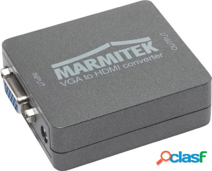 Av convertitore [vga, jack - hdmi] 1920 x 1080 pixel marmitek connect vh51