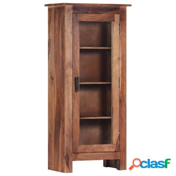 Vidaxl credenza 50x30x110 cm in legno massello di sheesham