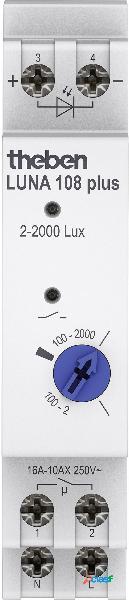 Theben luna 108 plus el sensore crepuscolare 1 pz. 230 v