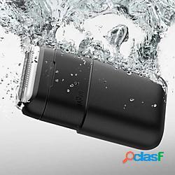 Xiaomi mijia braun rasoio elettrico uomo portatile mini flex rasoio 2 testine da barba impermeabile lavabile trimmer barba trimmer taglierina lightinthebox
