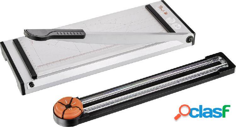 Peach pc100-18 taglierina a leva e rullo a4 numero max. di fogli (80g/mq) per taglio: 6 fogli