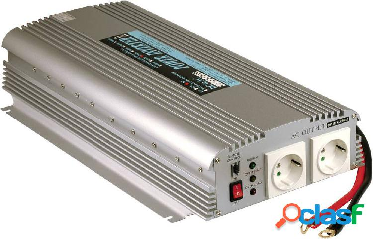 Mean well inverter a301-1k7-f3 1500 w 12 v/dc -