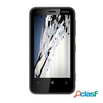 Riparazione del display lcd del nokia lumia 620