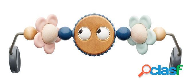 Gioco per sdraietta babybjörn googly eye legno pastello
