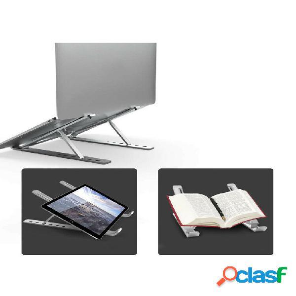 Supporto per tablet in lega di alluminio computer portatile pieghevole pieghevole a sei ingranaggi con montaggio regolab