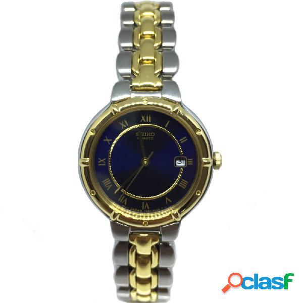 Orologio da donna seiko solo tempo in acciaio bicolore - sxd126p