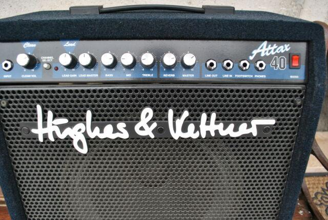 Amplificatore per chitarra hughes & kettner