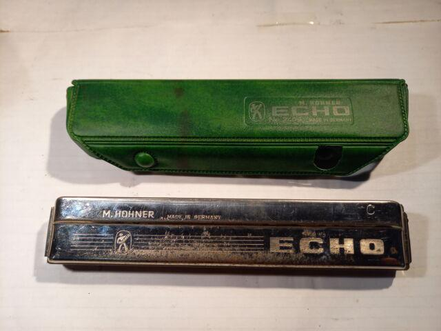 Armonica a bocca vintage hohner echo 2409 made in germany