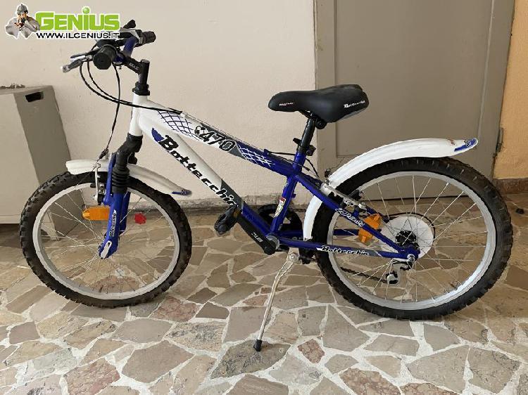 """Bicicletta bimbi dai 6 anni, 20"""" usata pochissimo con cambio"""
