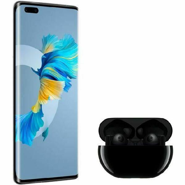 Huawei mate 40 pro black + freebuds pro (servizi google non