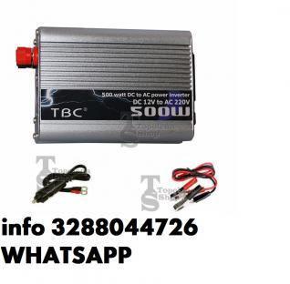 Inverter 12 220 500 w convertitore 12v 220v 500w altre